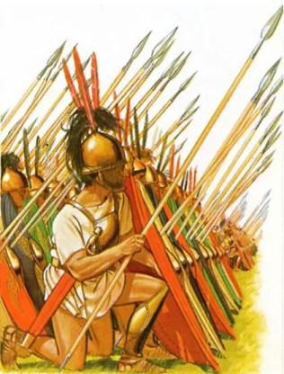 roman triarii tactics