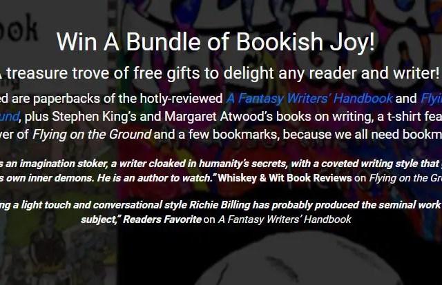 [Giveaway] A Bundle of Bookish Joy!