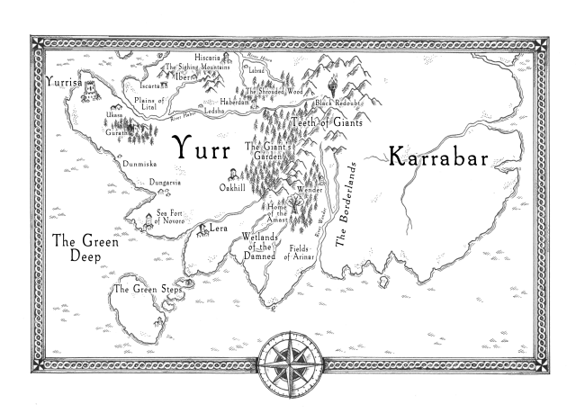 pariah's lament map