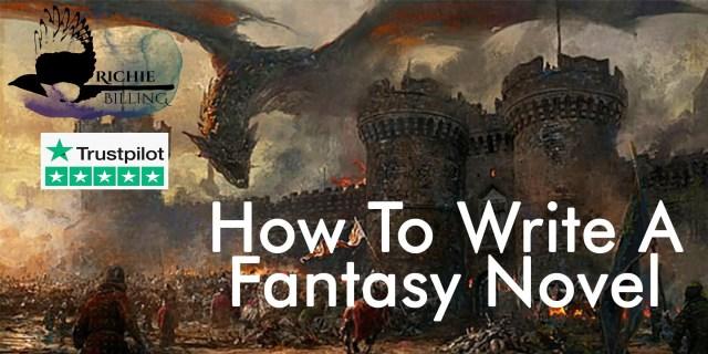 how to write a fantasy novel writing course