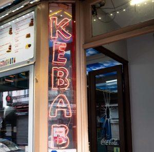 kebab neon light