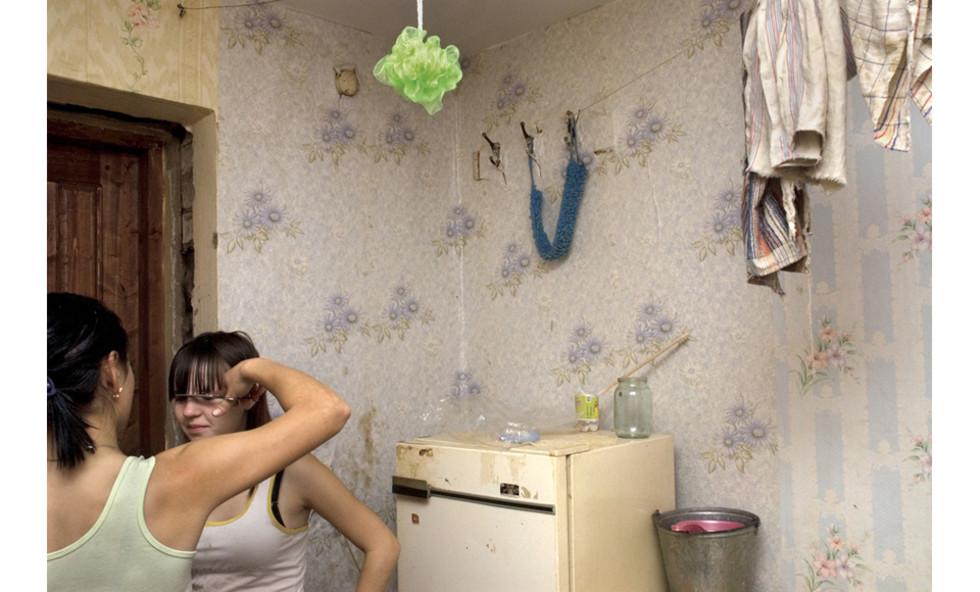 Inside a russian house