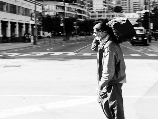 Wanderer in Toronto