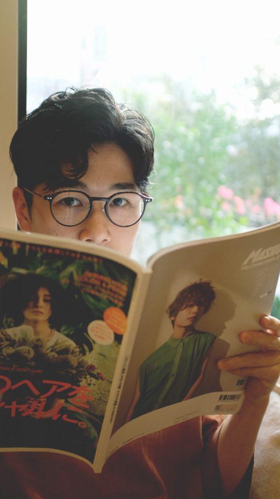日系 男生捲髮