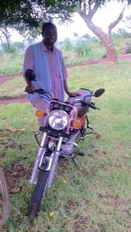 Abel and the motor bike