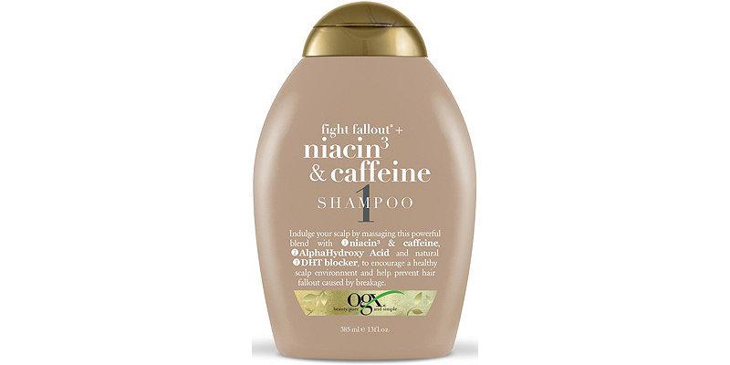 Ogx niacin and caffeine shampoo review