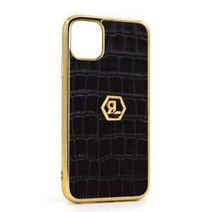 Onyx Croco Phone Case