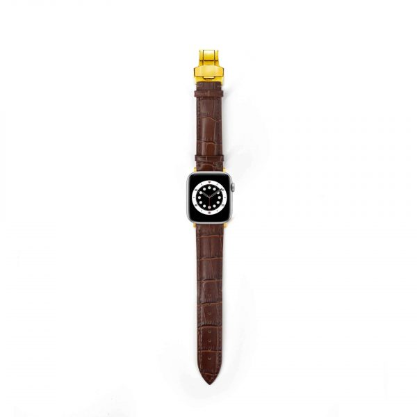 Nappa Croco Apple Watch Armband