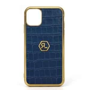 Sapphire Croco Phone Case