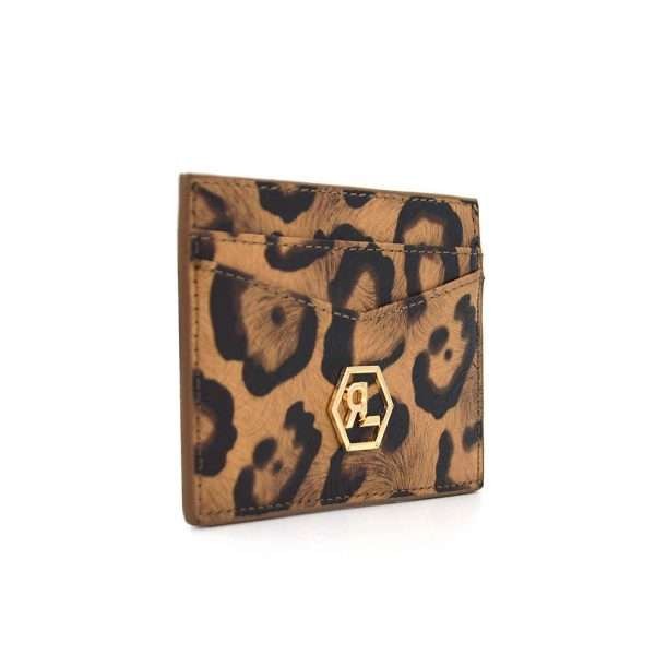 Wild Leopard Kartenetui