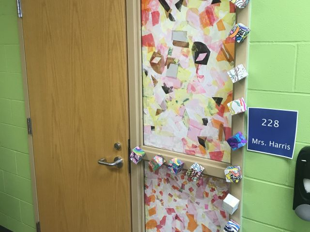 6th grade door artwork