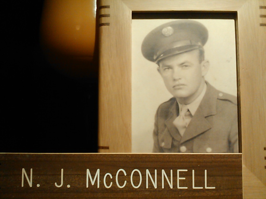 Lt. N. J. McConnell of Rayville Awarded Silver Star for Gallantry In Action in Europe - WWII - 1945