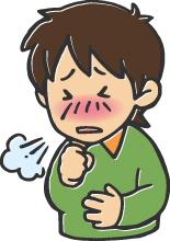 咳で辛い子供