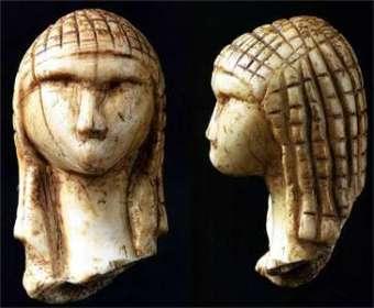 Venus of Brassempouy, France, c. 25,000 BC