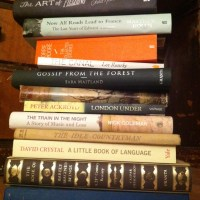 Coping with the 'to read' pile: confessions of an English book-eater