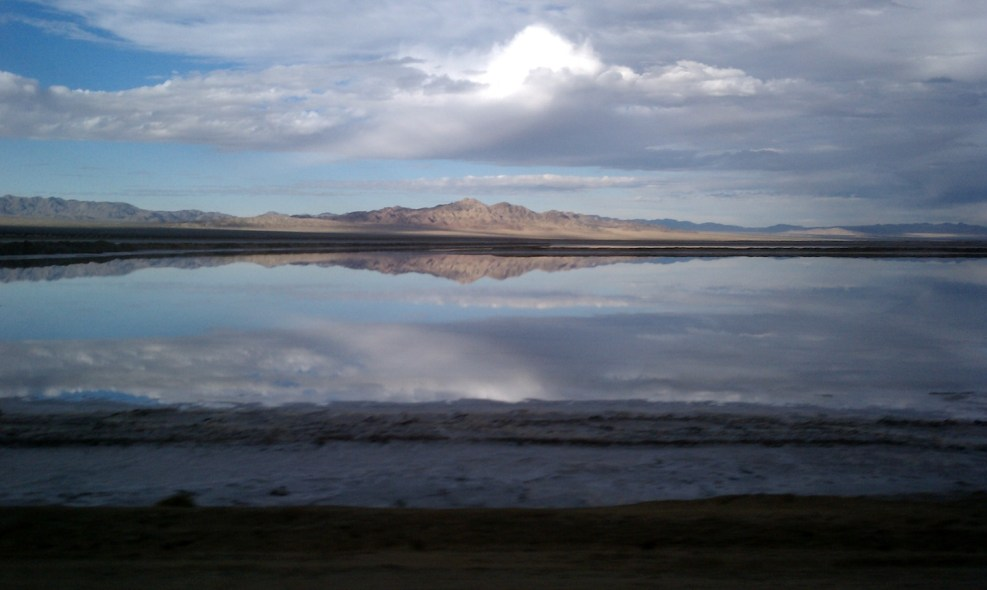 Salt Flats Reflection