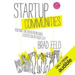 Startup Communities audiobook cover