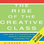 The Rise of The Creative Class audiobook cover