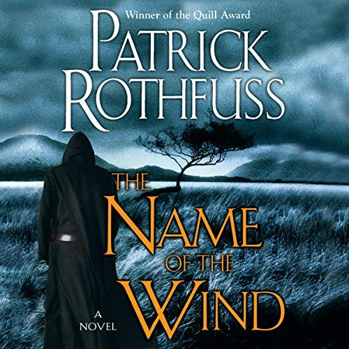 The Name of the Wind audiobook cover