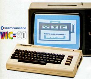 vic20 and tv