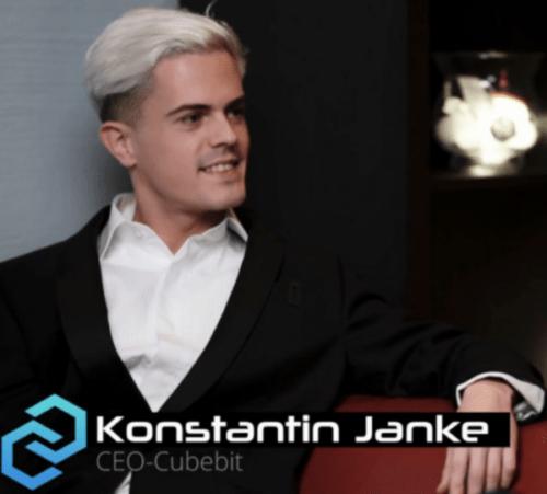 CubeBit Konstantine Janke