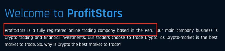 ProfitStars.io Peru