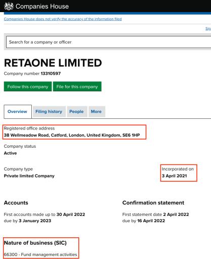 retaone review registration