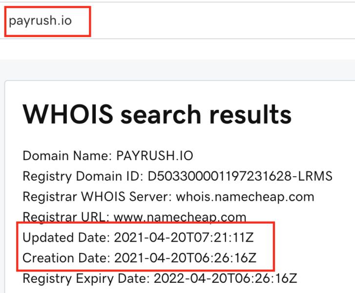 payrush.io reviews