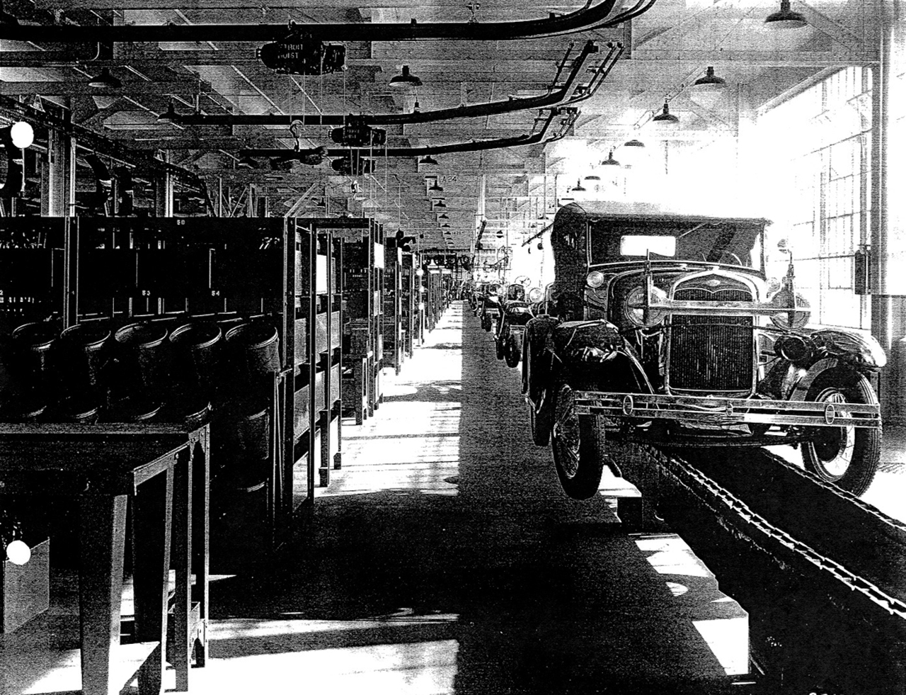 Assembly Line S Henry Ford