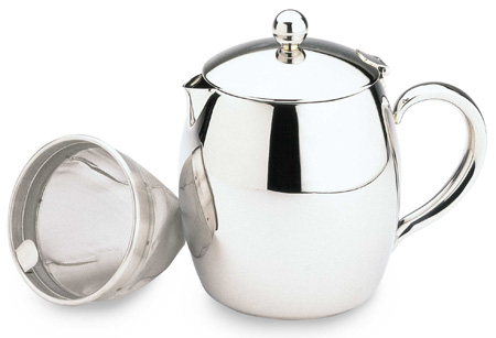 Bellux Insulated Teapot  Stainless Steel  09L