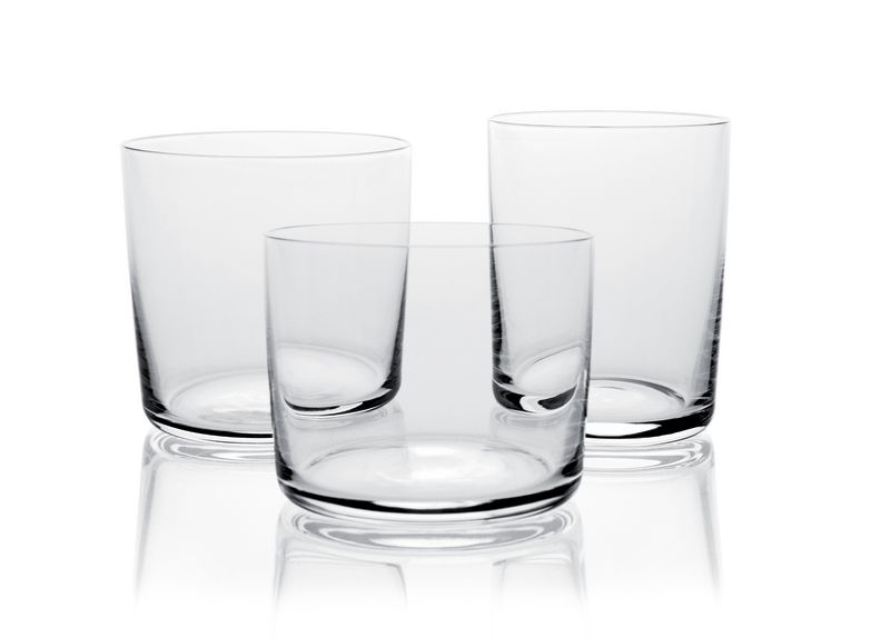 kitchen china dishes clogged drain alessi glass family - set of 4 water glasses by jasper ...