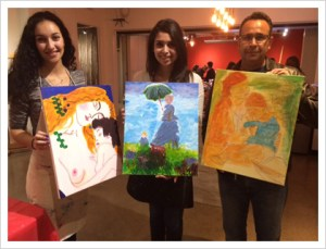 Social Painting: all together