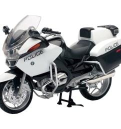 die cast replica bmw r1200 rt p us police bike [ 1024 x 1024 Pixel ]