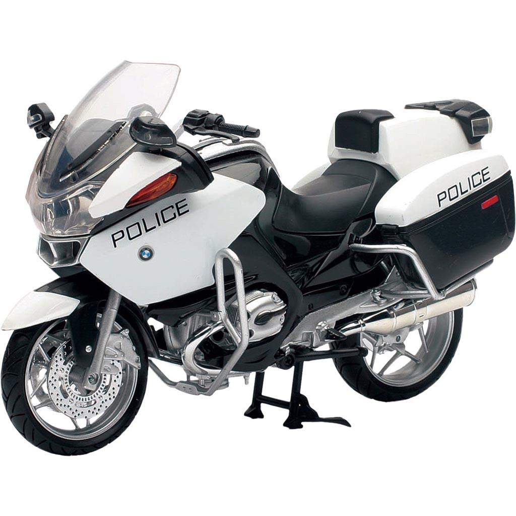 hight resolution of die cast replica bmw r1200 rt p us police bike