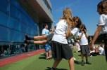 girls swing dancing