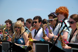 sax section