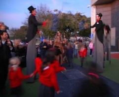 jugglers blurry