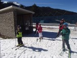 getting on the slopes