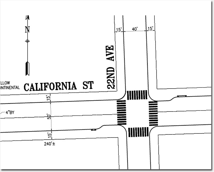 Traffic calming measures to be installed on California at