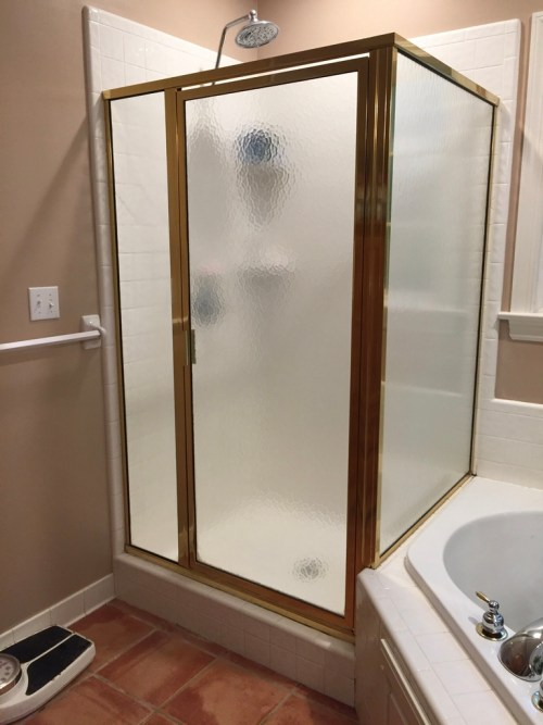 Framed Shower Door Vs Frameless Shower Door Richmond Va