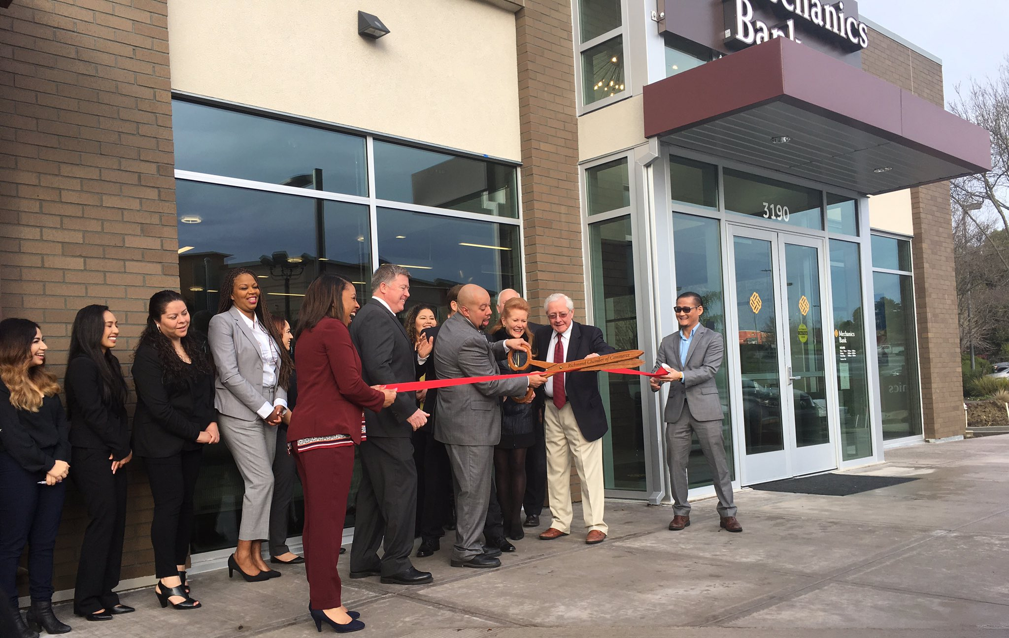 Mechanics Bank's new branch in Hilltop includes spacious community room
