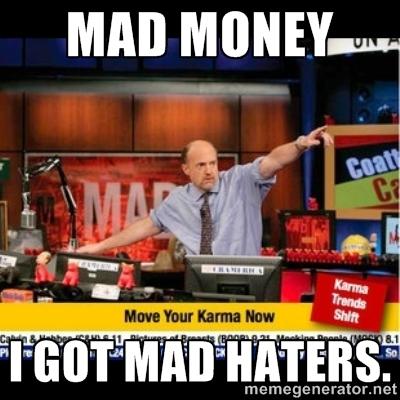 payoff debt mad money
