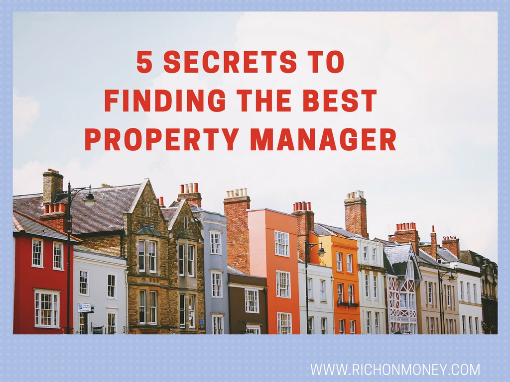 5 Secrets to Finding the Best Property Manager
