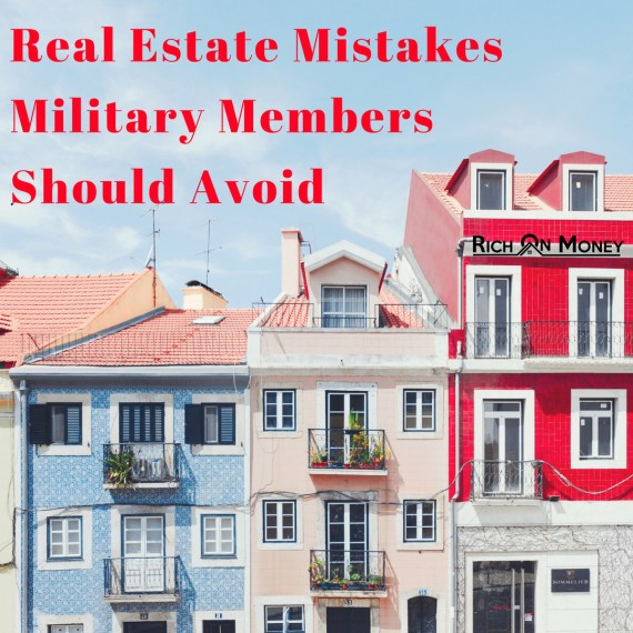 real estate military members mistakes