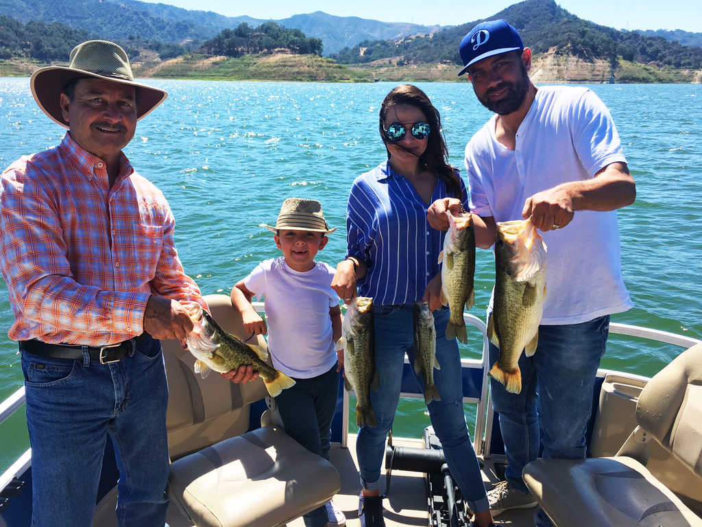 Lake Casitas Fishing Guide Service - 08/30/2017
