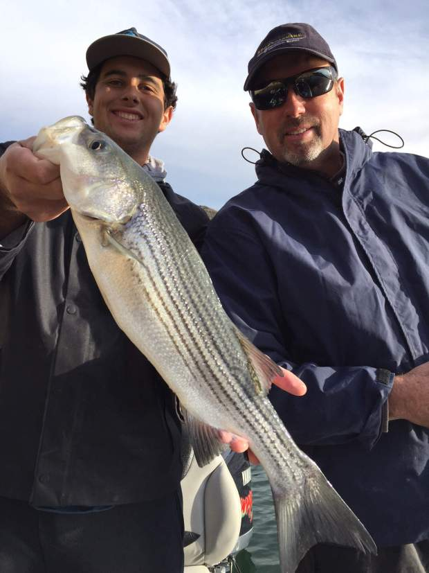 Castaic lake fishing guide 1/8/2016
