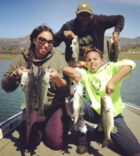 Rich tauber southern california bass fishing guide for Freshwater fishing in southern california