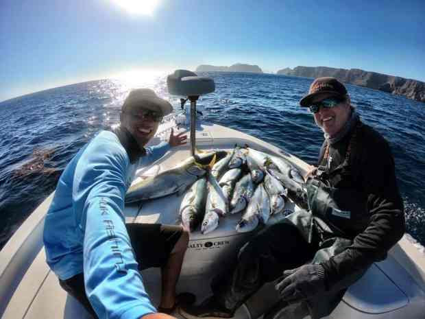 Saltwater Fishing Charter Report 10/07/2017