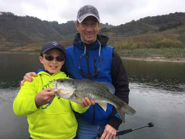 Lake Casitas Bass Fishing Guide Service - 03/13/2018