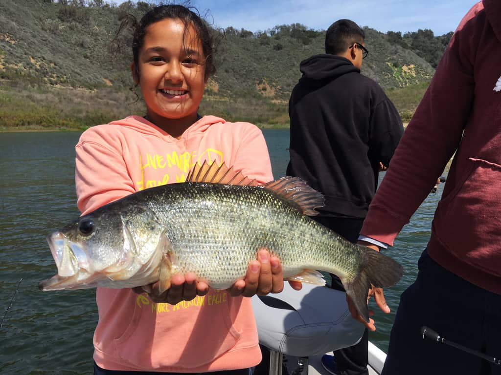 Lake Casitas Fishing Guide - 04/18/2018